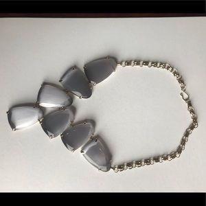 Kendra Scott Slate Cats Eye Harlow Necklace